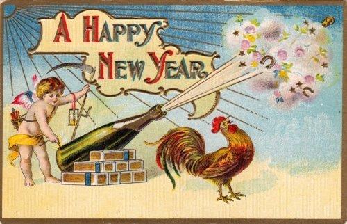 Листівки З 2017 Новим роком Півня. Креативні та цікаві ідеї