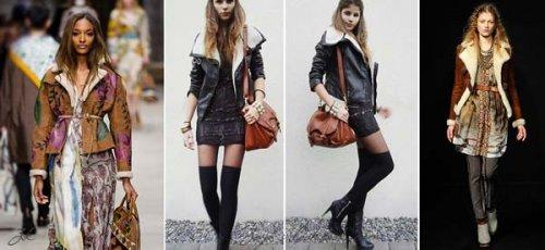 Модні жіночі дублянки 2017 року
