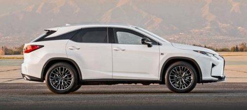 Нова модель Lexus RX 35020172018 року