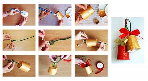 Новорічні поробки своїми руками для дитячого садка. Кращі ідеї