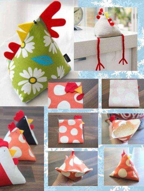 Новорічні вироби на рік півня, Чудові ідеї для подарунків