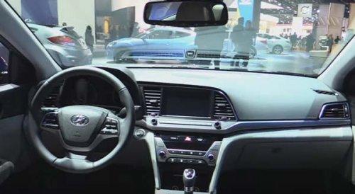 Відео тест драйв Хендай Елантра 20172018 російською