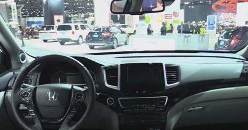 Відео тест драйв Хонда Пілот 20172018 російською