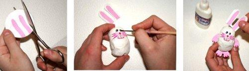 Як змайструвати ватні ялинкові іграшки своїми руками
