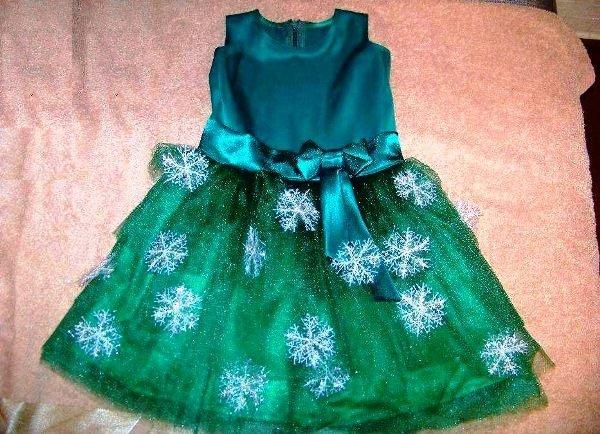 Новогодние платья для девочки сшить 567