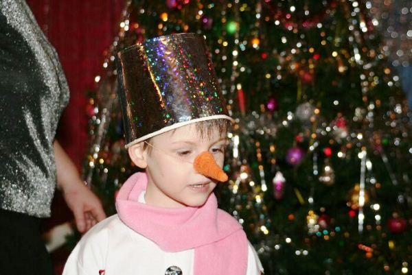 Сделать нос снеговика своими руками