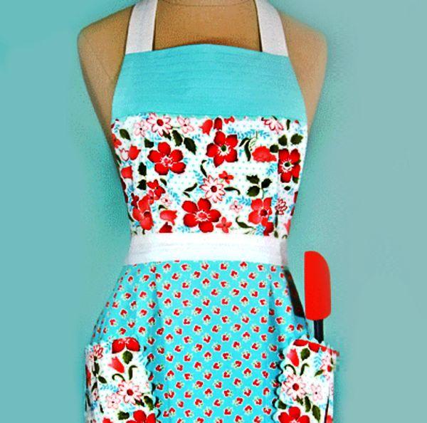 2ff6d34d2ab4104241ad31ae98434879 Як зшити фартух для кухні своїми руками   викрійки 1fababc19e4ee