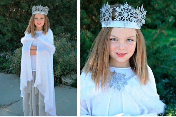 Новогодний головной убор для девочки своими руками