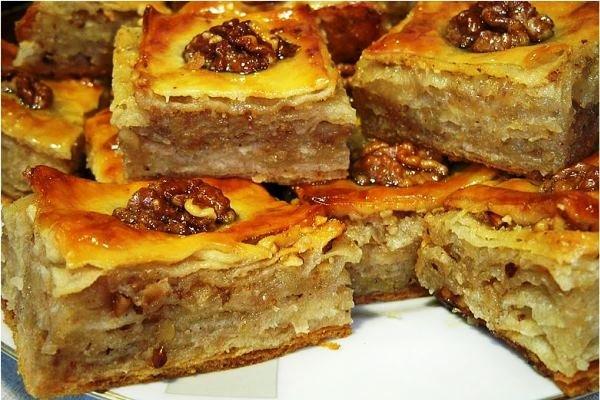 Пирог пахлава рецепт