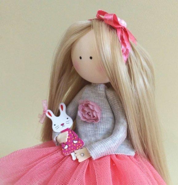 Как сшить юбку для большой куклы 75