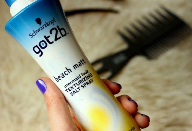 Морской спрей для волос укладки