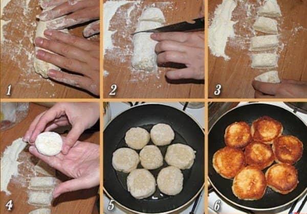 Сырники из творога рецепт пошагово с фото без яиц