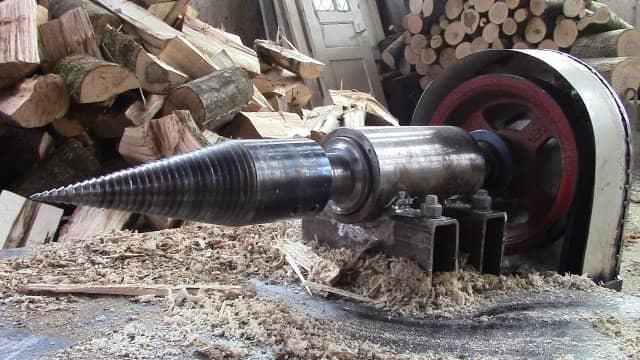 Бур для колки дров своими руками 58