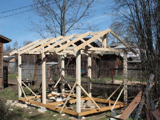 Как построить крышу беседки своими руками пошаговая инструкция с фото