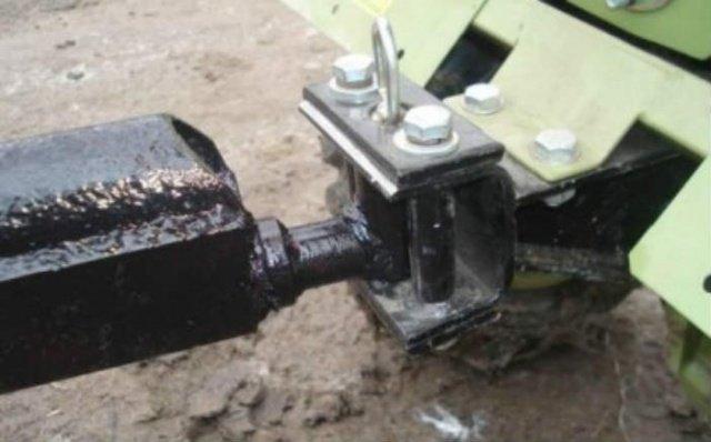 Как сделать прицепное устройство к тележке мотоблока 440