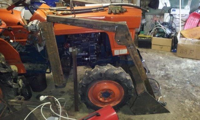 Как сделать кун к трактору 126