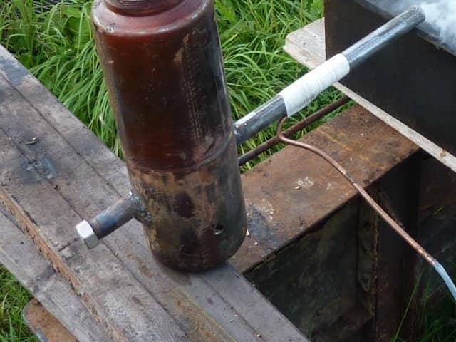 Дымогенератор для холодного копчения своими руками с конденсатором 24