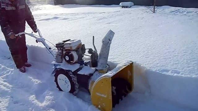 Насадки для мотоблока для уборки снега своими руками 40