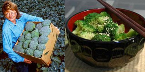 как сажать на рассаду капусту брокколи