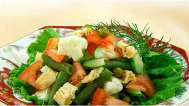 салат из цветной капусты деликатес