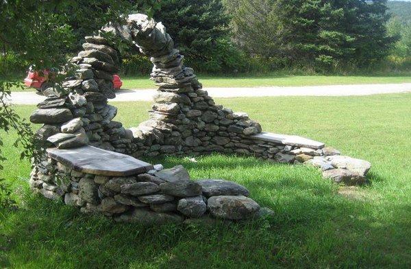 Садовая скульптура своими руками 88