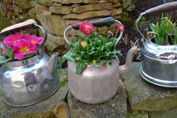 Кашпо и вазоны для сада своими руками 37