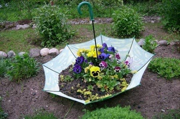 Фото красивых цветочных клумб на даче своими руками 50
