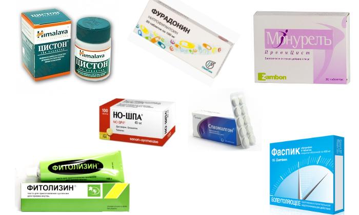 Какие лекарства помогают при цистите