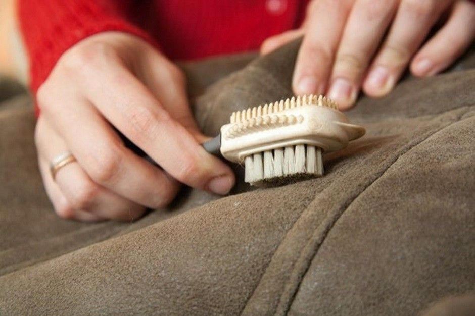 Как чистит замш домашний условиях