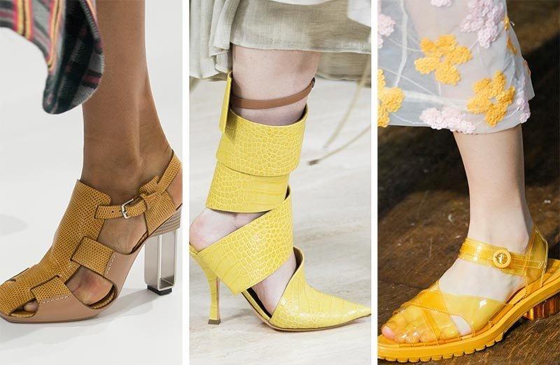 Яке взуття носити влітку 2019  модні тенденції 283d8f9193205