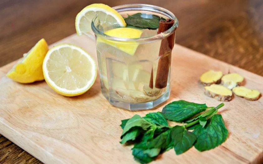 средство для похудения имбирь лимон